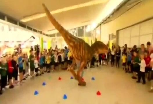 Дети И Динозавр