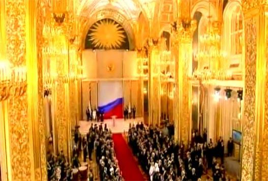 Инаугурация Путина 7 Мая 2012 Года