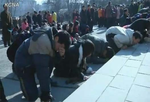 КНДР Оплакивает Ким Чен Ира