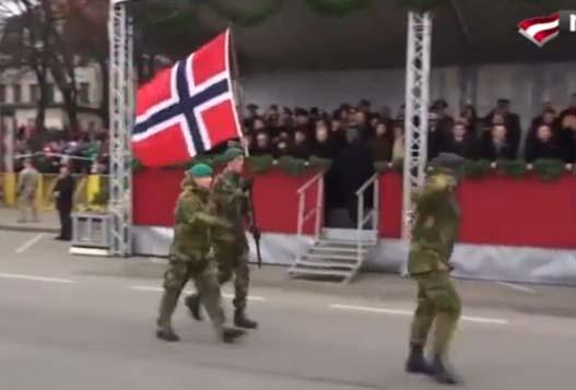 Парад Вооруженных Сил Латвии
